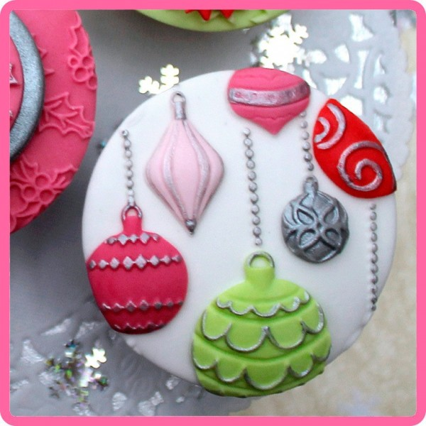 Katy Sue - Silikon Mould - Christmas Baubles
