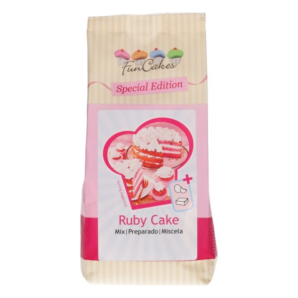 FunCakes - Special Edition Mix für Ruby Cake - 400g