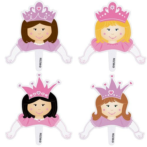 Wilton Pops Fun Sticks - Prinzessin - Princess