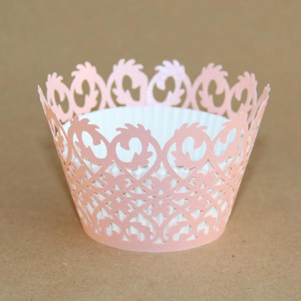 Miss Bakery House Cupcake Wrapper - Rebe Rosa- 12 Stück