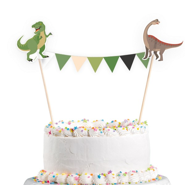 Amscan Happy Dinosaurier - Cake Topper - 15 x 20 cm