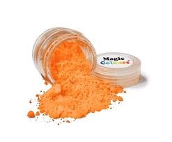 Magic Colours, Edible Petal Dust - Pumpkin, 7 ml