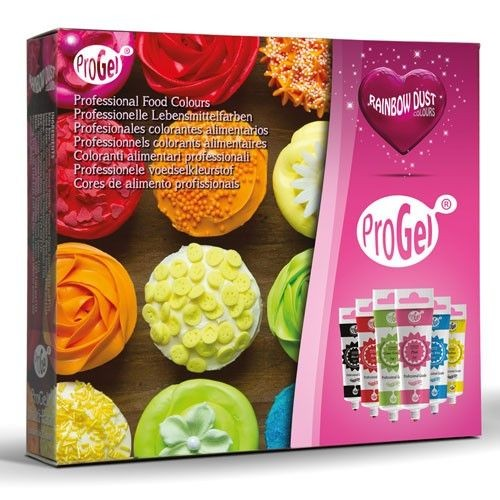 RD - ProGel ® Multi-Pack - Professional Food Colours 6 x 25 g