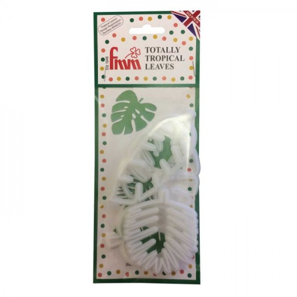 FMM Ausstecher - Totally Tropical Leaves Set/4