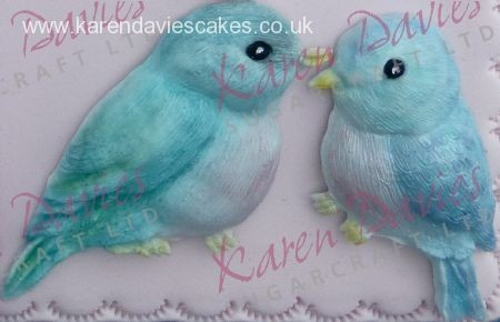 Karen Davies - Love Bird Mould