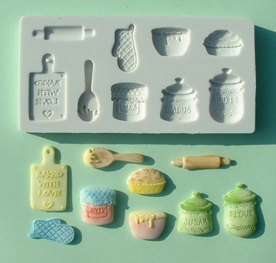 Alphabet Moulds Silikonmould - Backzutaten - Home Baking Mould