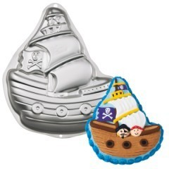 Wilton Backform Piratenschiff Cake Pan Pirate Ship Tortenboutique