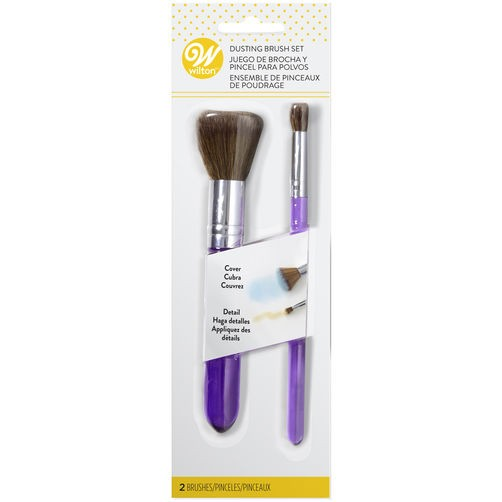 Wilton - Pinsel - Dusting Brush Set - 2 teilig